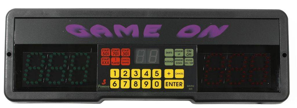 Bull's GAME ON Scoreboard