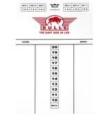 Bull's Dart scorebord 45x30cm