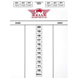 Bull's Dart scorebord 60x44cm