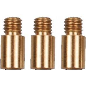 Steeltip accessoires, handige accessoire om een rubberringetje om de schroefdraad van een shaft te krijgen, ...