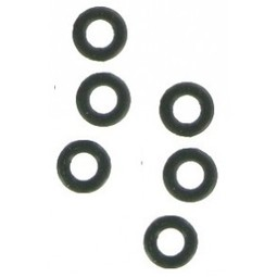 Bull's O-rings (rubber) per 6 stuks