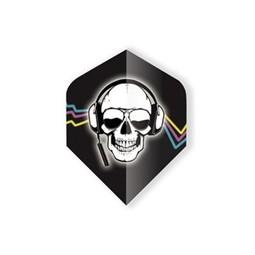 Unicorn Darts Core 75 - Skull Head-phone