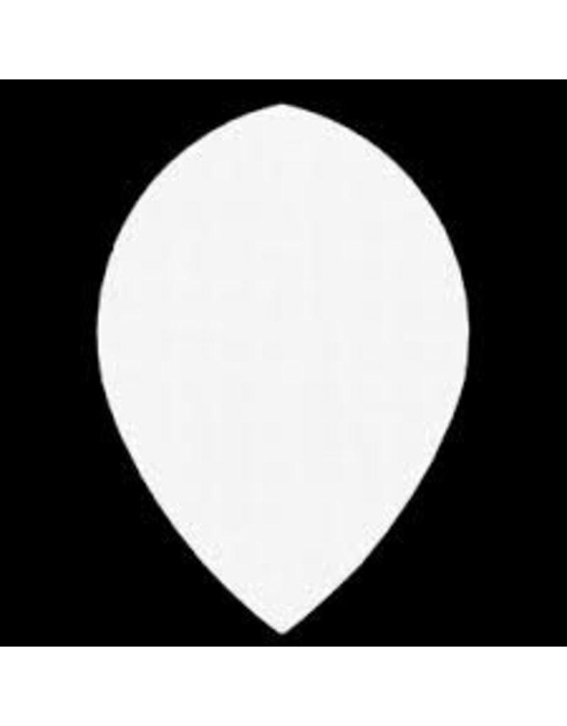 """Bull's POLYNA Plain Pear Flight """"Clear"""""""