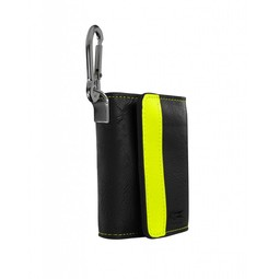 Target Darts MONTANA WALLET BLACK WITH YELLOW STRIP