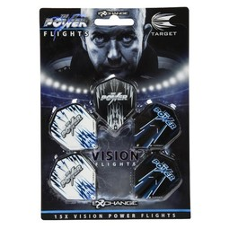 Target Darts Power Vision Flight 5 Pack