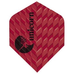 Unicorn Darts Unicorn Q 100 Ribbed Red