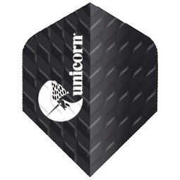Unicorn Darts Unicorn Q 100 Ribbed Black