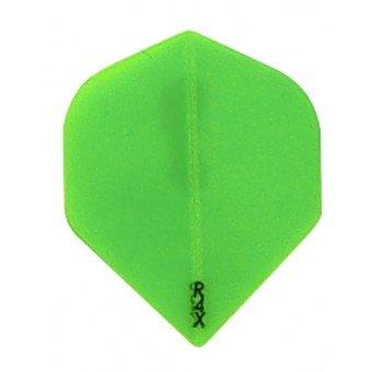 Ruthless Dart Flight-R4X Transparant Green
