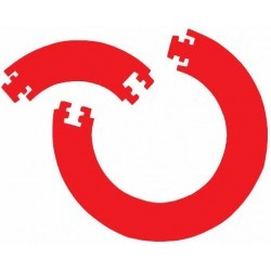 Bull's Bull's GUARD 4 PCS. FOAM SURROUND- Red