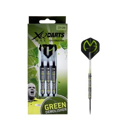 XQ-Max Darts Michael Van Gerwen Green Demolisher 70% Tungsten