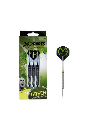 Michael Van Gerwen Green Demolisher 70% Tungsten