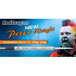 Red Dragon Peter Wright - Snakebite 11 - 85% Tungsten