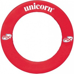 Unicorn Darts Striker Dartboard Surround Printed Red