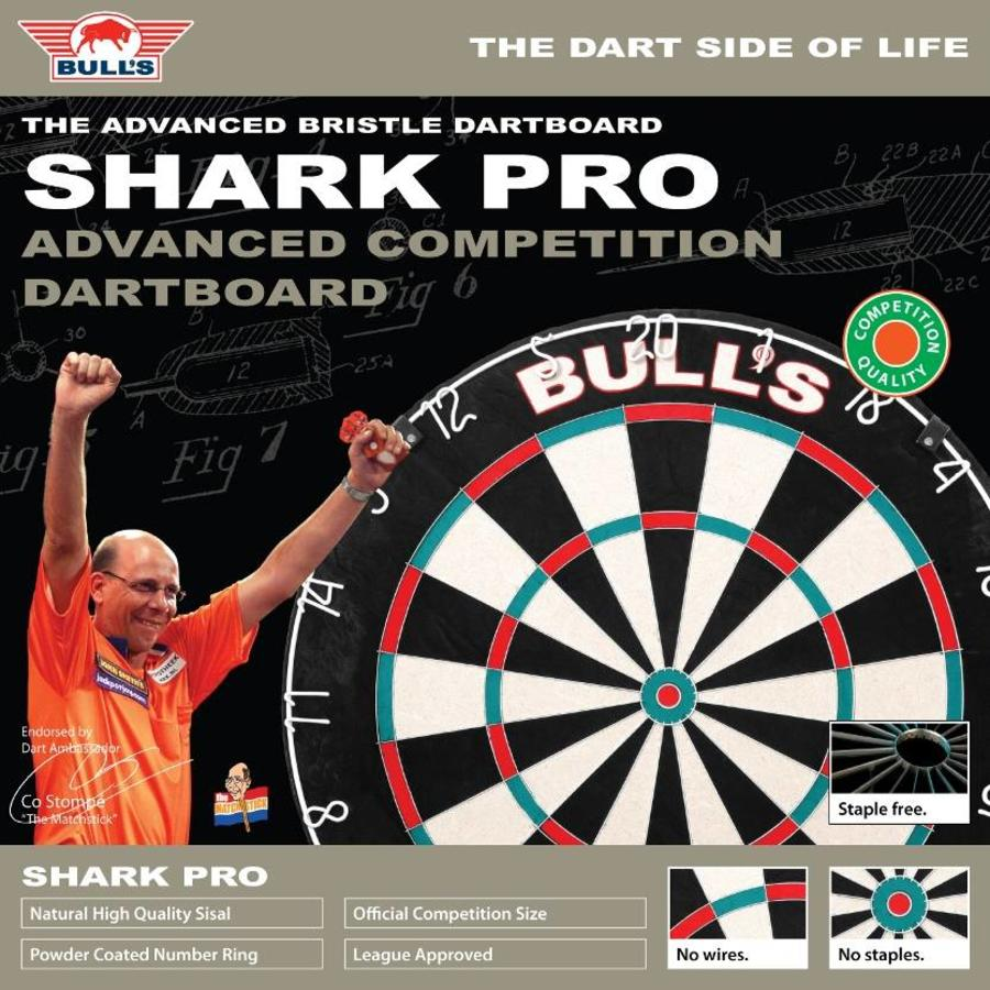 Bull's Shark Pro Dartboard-2