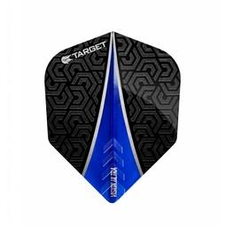 Target Darts Vision Ultra Flight Fin Blauw No.6