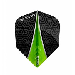 Target Darts Vision Ultra Flight Fin Groen No.6