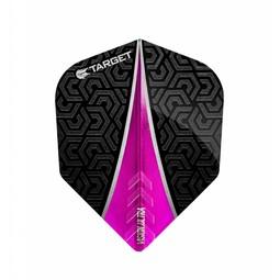 Target Darts Vision Ultra Flight Fin Roze No.6