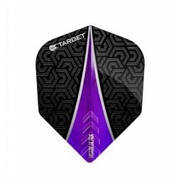 Target Darts Vision Ultra Flight Fin Paars No.6