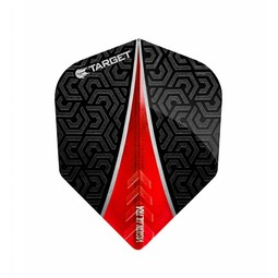 Target Darts Vision Ultra Flight Fin Rood No.6