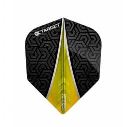 Target Darts Vision Ultra Flight Fin Geel No.6