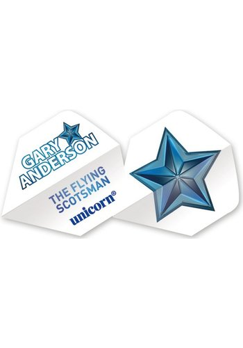 Authentic 100 Big Wing - Gary Anderson Blue Star