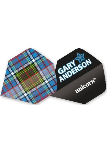 Authentic 100 Big Wing - Gary Anderson Scottish Tartan