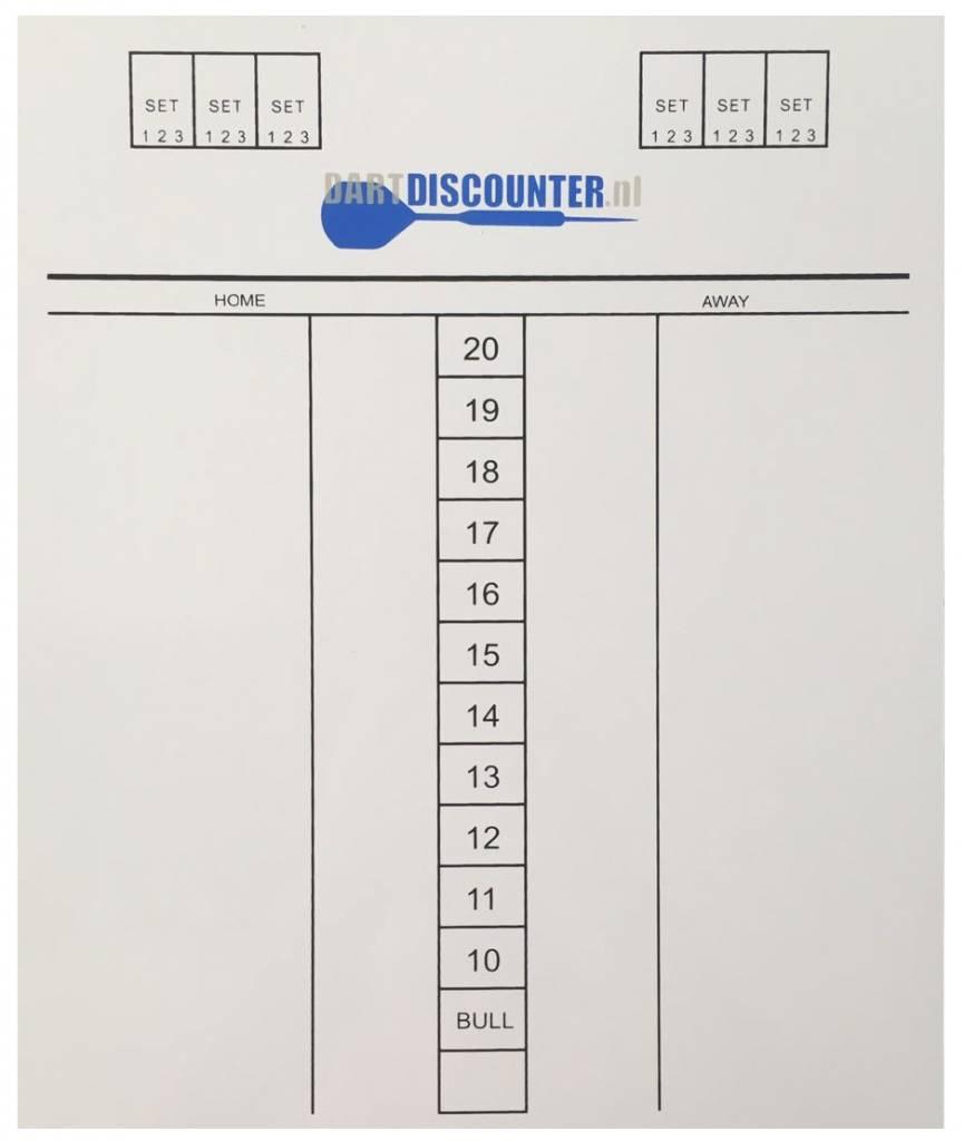 Dartdiscounter Darttel Flex scorebord