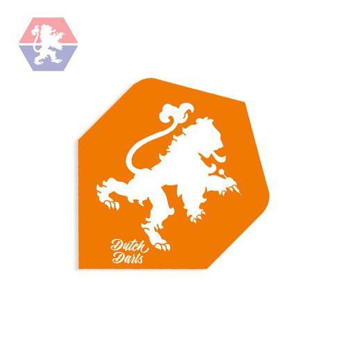 Dutch Darts Flight Orange Lion