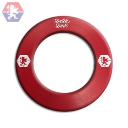 Dutch Darts Dartbord Surround Logo Rood