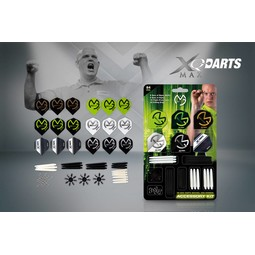 XQ-Max Darts Michael van Gerwen Accessory Kit 84pcs