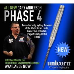 Unicorn Darts Purist WC Gary Anderson Phase 4