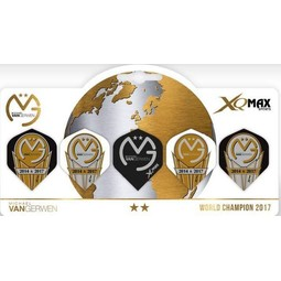 XQ-Max Darts Michael van Gerwen World Champion 5 pack Flights