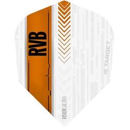 Target Darts Vision Ultra White/Orange RVB Std.6
