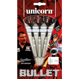 Unicorn Darts Bullet Gary Anderson P2 Stainless Steel