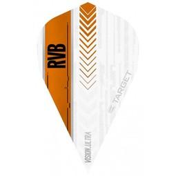 Target Darts Vision Ultra White Player RVB Vapor