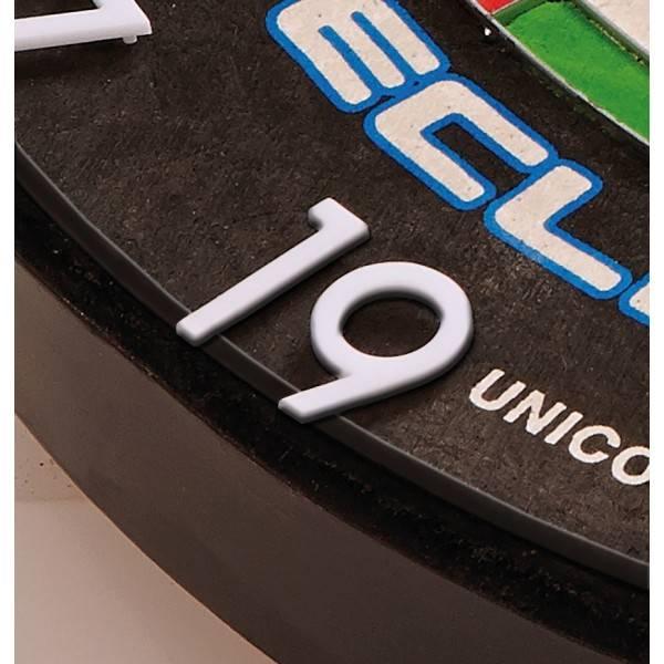 Hd dartbord cijfer ring van unicorn. past op ieder dartbord van officieel competitie formaat