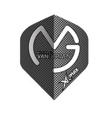 XQ-Max Darts Michael van Gerwen black, grey dots