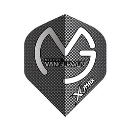 XQ-Max Darts Michael van Gerwen black, grey dots