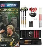 Winmau Darts Simon Whitlock  90% T Gold Plated Dart-Set