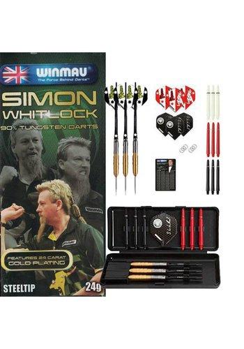 90% Tungsten set - Simon Whitlock -  Gold Plated Dart