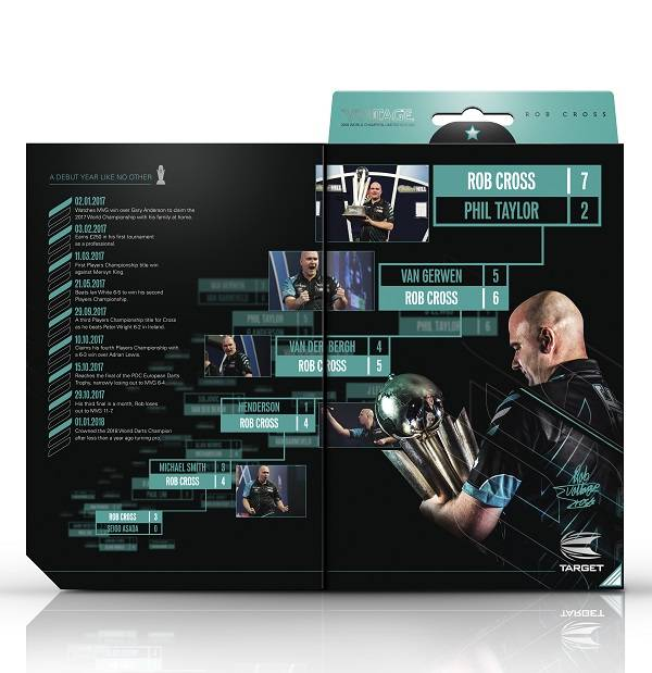 Target Darts Rob Cross Limited Edition - World Champion 2018 90% Tungsten