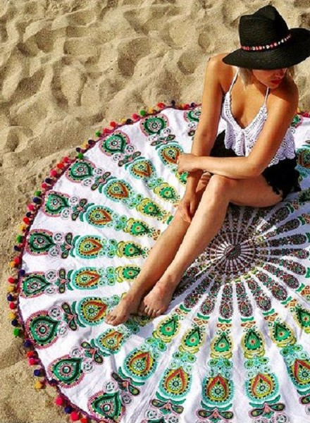 LOLA NOMADA Beach Roundie Havana