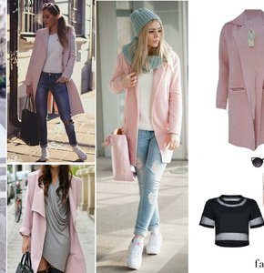 Pink Coat: Pretty in Pink