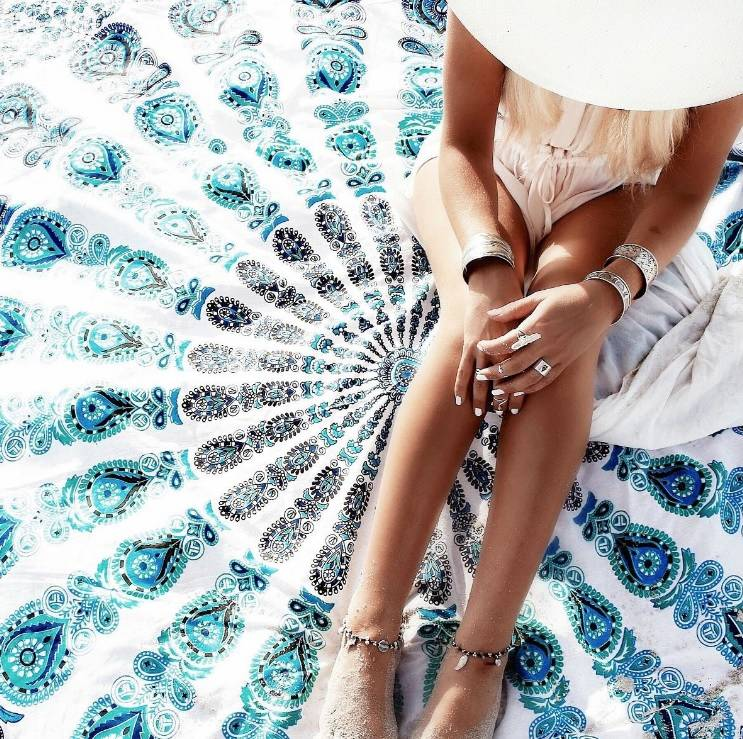 Fliex Roundie Beach Towel