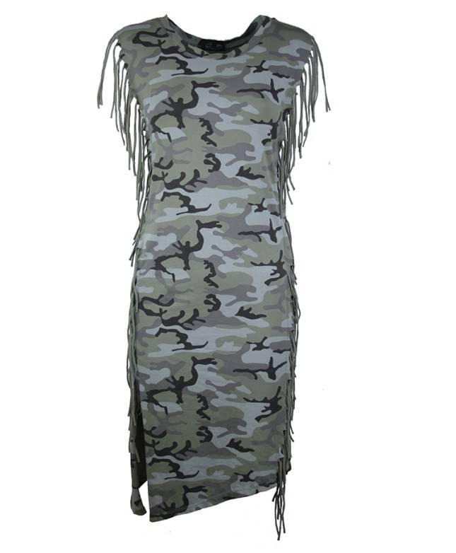 Fashion Mania Army jurk