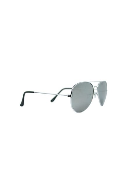 Fashion Mania Zonnebril aviator zilver