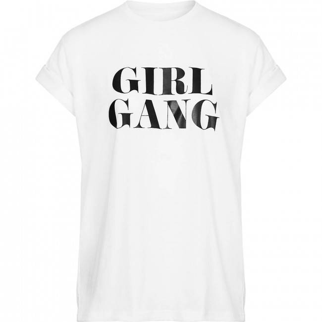LA SISTERS Girl Gang tshirt wit