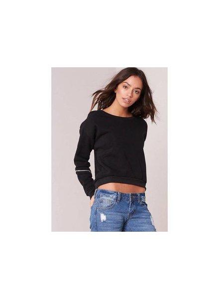 EIGHT PARIS Sweater zwart