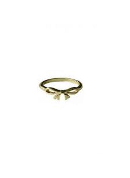 Fashion Mania Ring Strik Goud