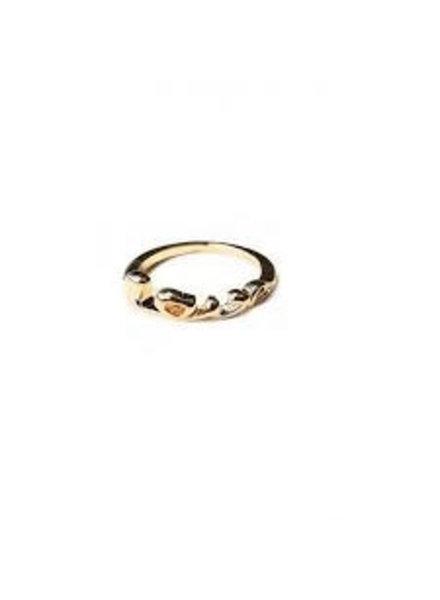 Fashion Mania Ring Love Goud